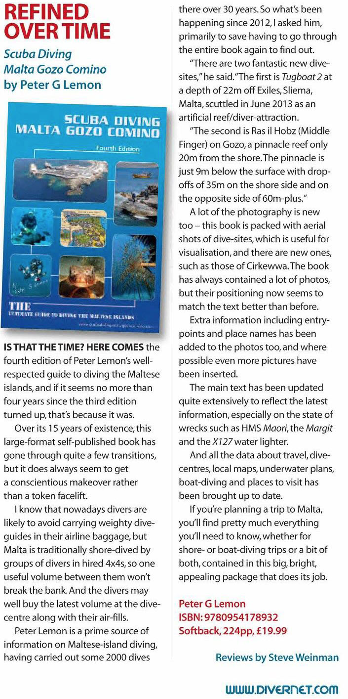 Diver Magazine Review